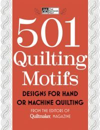 Hundreds of quilting motifs to inspire you and a lot of bang for your buck. Find it at quiltandsewshop.com.