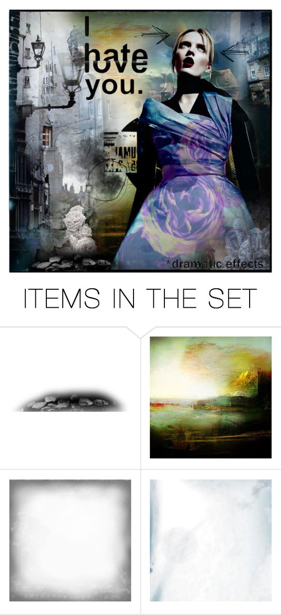 """""""Lovehate"""" by lady-percy ❤ liked on Polyvore featuring art"""