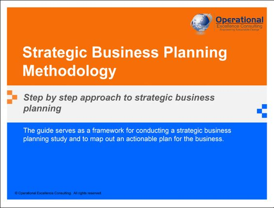 Marketing plan and sales strategy business plan – Strategic Business Plan Template