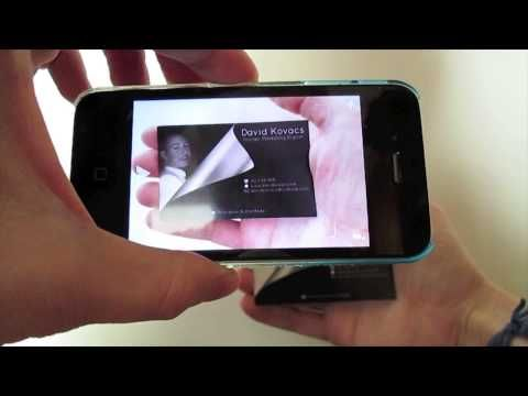 10 business card with augmented reality aurasma app youtube 10 business card with augmented reality aurasma app youtube business aggregate pinterest business cards app and business reheart Choice Image