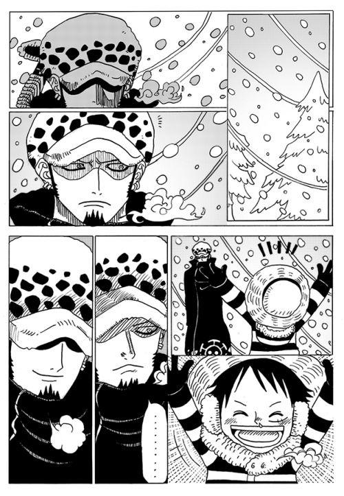 Lawlu Doujinshi Tumblr One Piece Comic One Piece Anime Doujinshi