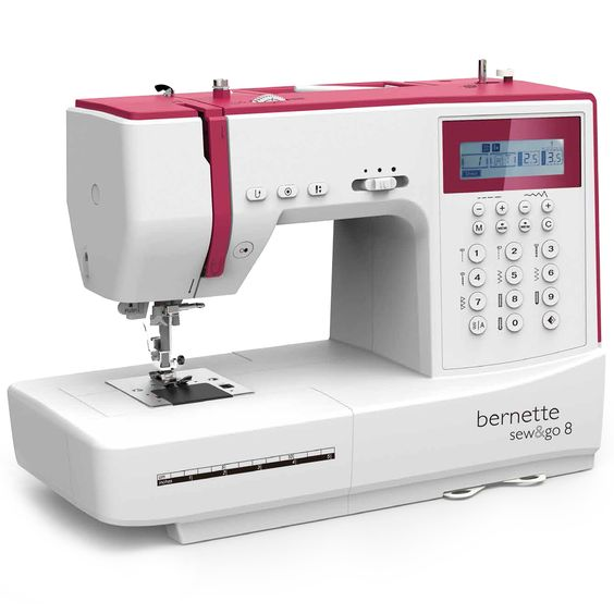 Máquina de coser Bernette by Bernina Sew&Go 8 - Quilt & Patchwork