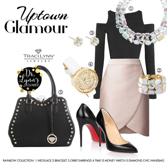 Fashion Friday How about Uptown Glamour for your Girls Night Out? EBoutique: http://bit.ly/1XAFen2 #beautyofblingbyangela #girlsnightout #datenight #gno #fridayfeature