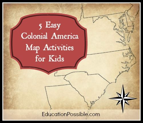 Activities Colonial America And America On Pinterest