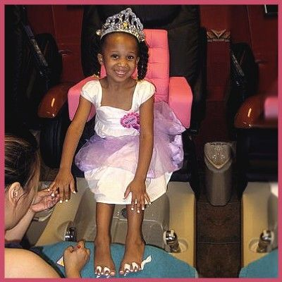 Sassy Lil Miss Diva Parties, Sassy Nail Salon and Spa, Washington, DC