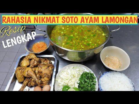 Resep Soto Ayam Lengkap Dari Bumbu Kuah Koya Sambal Semua Nikmat Youtube Resep Masakan Thai Makanan Dan Minuman Resep
