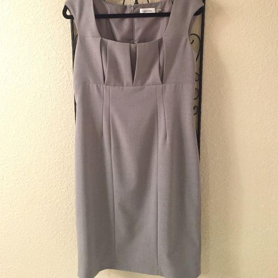 Calvin Klein business dress Very flattering business dress. Excellent condition Calvin Klein Dresses