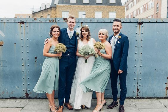 Our Lovettes member Katie wore Charlie Brear for her London wedding in Autumn 2015. Photography by Miss Gen.