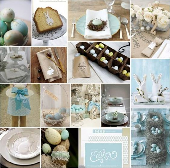 PRETTY PARTIES: ROBIN'S EGG EASTER BRUNCH