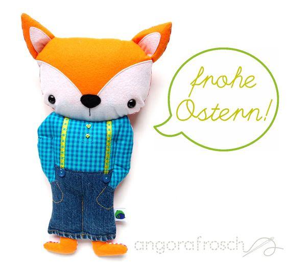 Der kleine Fuchs-Junge