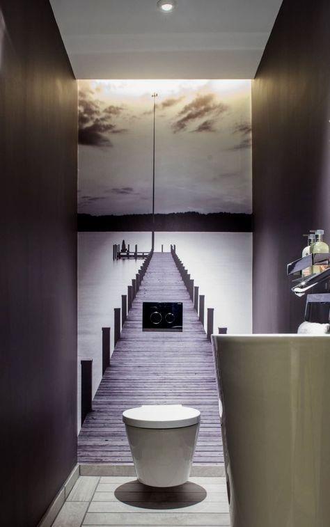 Dans les salles d\'eau et les salles de bain modernes la ...