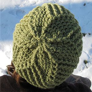 Free Crochet Pattern For Mens Earflap Hat : free hat pattern square Free Crochet Pattern - Mens ...