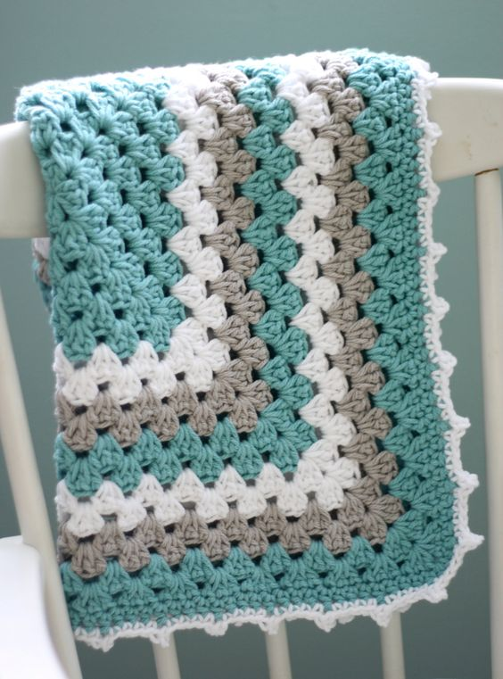 Daisy Cottage Designs Granny Square Blanket Crochet ...