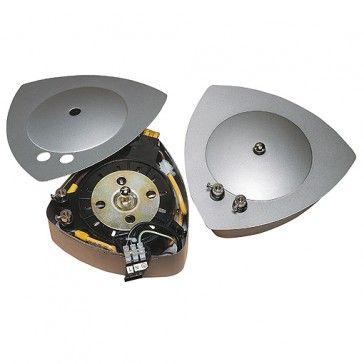 Design Trafo MANTA 200VA, silbergrau / LED24-LED Shop