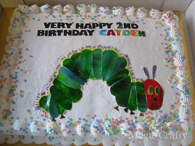 Step-by-Step 'Very Hungry Caterpillar Cake'