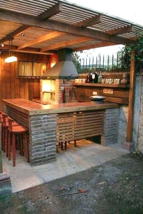 31 Entertainment Outdoor Kitchen Bar Ideas For Family Gathering Place Outdoor Kitchen Bars Outdoor Kitchen Outdoor Kitchen Design