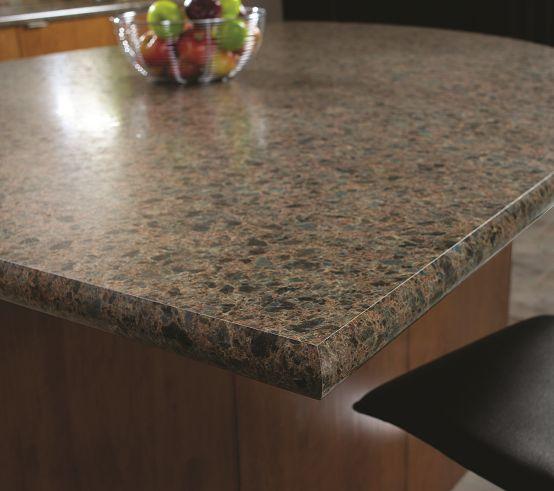 Wilsonart HD, Mystic Gemstone, Crescent Edge #laminate #kitchen #countertop