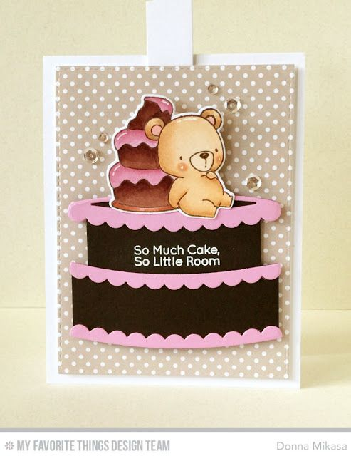 Twice the Wishes Card Kit - Donna Mikasa   #mftstamps: