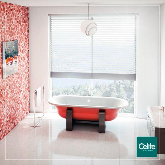 Banheira Duo Confort Oval WoodLine Vermelha  | Celite.  A versão WoodLine traz um conceito inovador, combinando o requinte da madeira com a robustez do aço esmaltado em cores vibrantes.