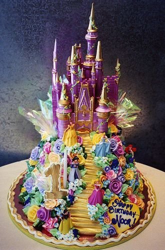 A FAIRY TALE...Rosebud Cakes