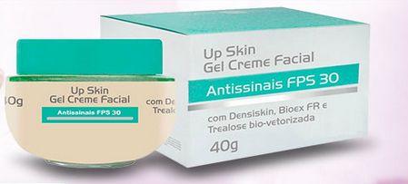 Conheça o poderoso Up Skin Creme Facial Rejuvenescedor para deixar a sua pele renovada, mais jovem, livre de rugas e marcas de expressão. Saiba mais!