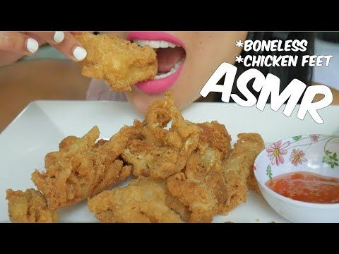Asmr Boneless Fried Chicken Feet Extreme Crunch Eating Sounds No Talking Sas Asmr Youtube Eat Fried Chicken Enjoy Eating Asmr jollibee cheesy spicy fried chicken listen to me eat spicy fried chicken from jollibee with nacho cheese. pinterest