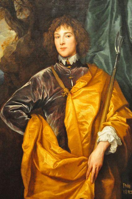 Anthony van Dyck - Philip, Lord Wharton, 1632 at National Art Gallery Washington DC: