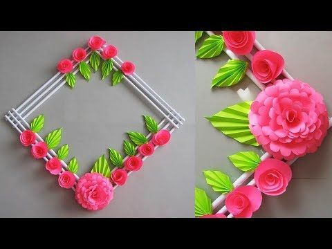 Youtube Paper Crafts Diy Crafts Paper Flower Wall