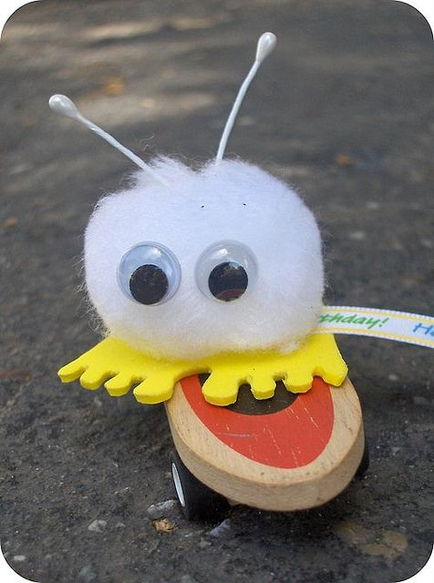 In Kindergarden my teacher gave me on of these and I thought it was REAL! I treasured this little guy!