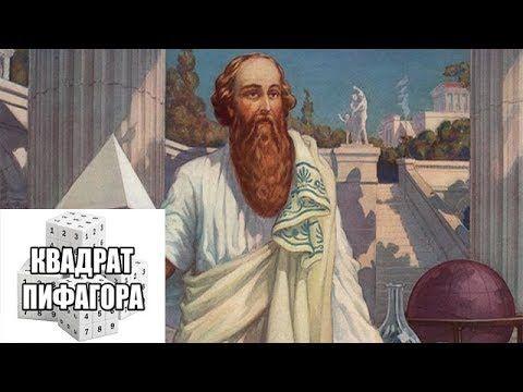Osnovy Numerologii Urok 1 Rasschyot Kvadrata Pifagora