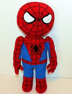 Free Amigurumi Superhero Patterns : Spiderman, Crochet patterns and Heroes on Pinterest