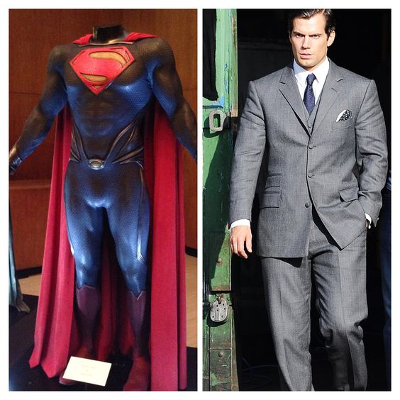 Cool detail: Michael Wilkinson flew to London to work w/Henry Cavill on the Batman vs. Superman suit, while he filmed #UNCLE http://www.henrycavillnews.com/2014/03/exclusive-michael-wilkinson-talks.html?m=1