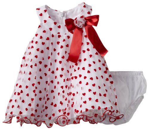 Valentine Baby Clothes Bonnie Baby Girls Newborn Red