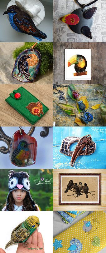 find 16 birds by Alensis on Etsy--Pinned with TreasuryPin.com