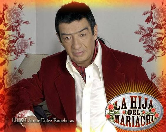 Alfonso Ortiz como don Carlos en La Hija del Mariachi