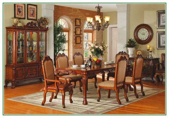 Excellent idea on Traditional Style Dining Room Decoration