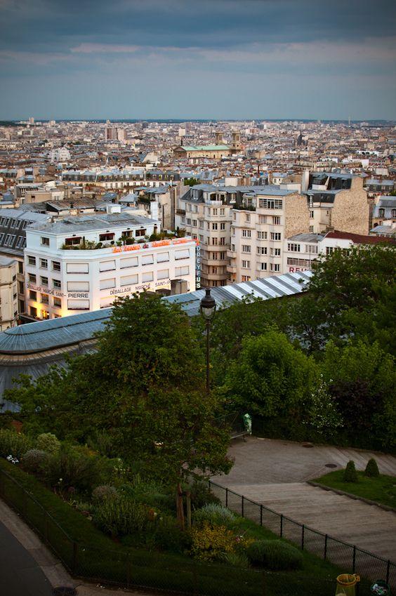 Montmartre, Paris, Île-de-France_ France