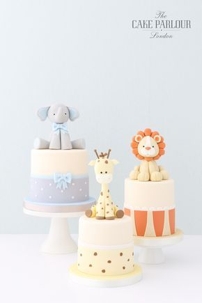 Baby cakes: ideas and inspiration