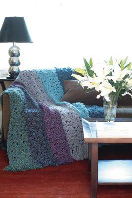 Country Loom Yarn Free Crochet Patterns : Beautiful crochet throw......found pattern on Michaels ...