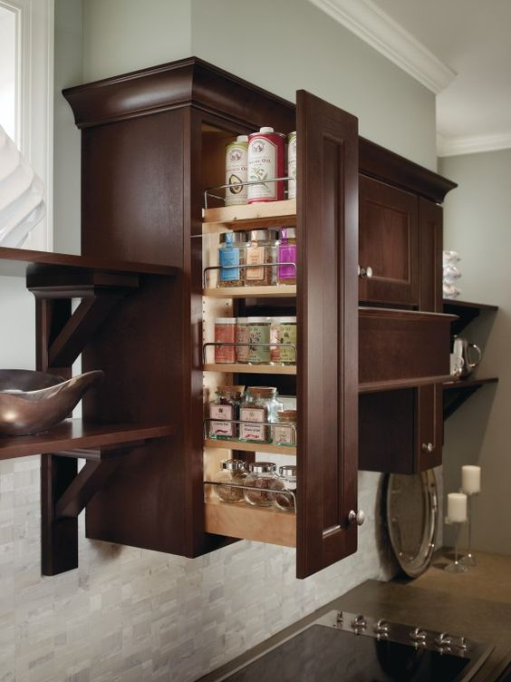 Pullout Spice Rack A Cook 39 S Dream