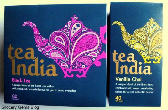 Tea India - Black Tea & Vanilla Chai