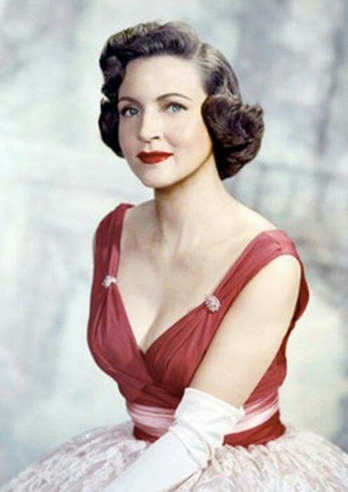 Betty White when she was young