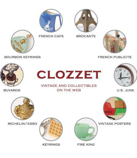 clozzet 大阪市西区土佐堀1-1-5-2F  OPEN 12:00~19:00 CLOSE SUN / MON