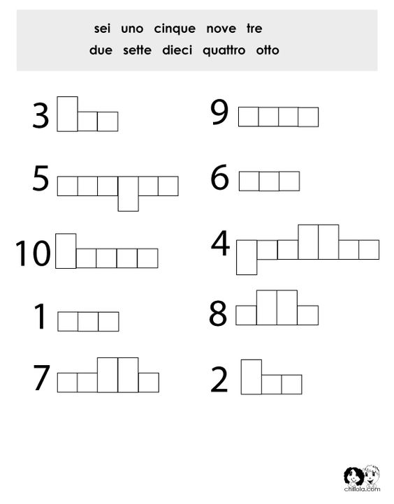 Printables Italian Language Worksheets app spanish and colors on pinterest numbers italian worksheet