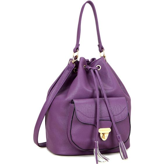 Dasein Front Pocket Convertible Drawstring Bag Hobo Bag ($40) ❤ liked on Polyvore featuring bags, handbags, shoulder bags, hand bags, hobo handbags, drawstring hobo bag, hobo shoulder handbags and convertible purse