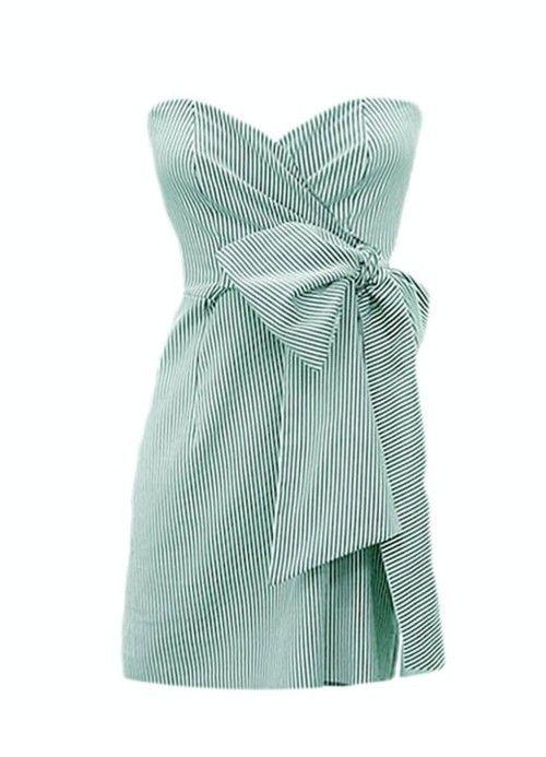 seersucker bigbow dress