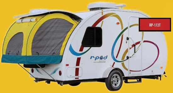R Pod Ultra Lite Travel Trailer By Forest River Review