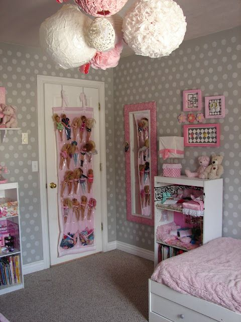 A girl and a glue gun: the girls room...a year in the making....