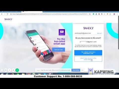 Know How To Resetrecover Yahoo Password Without Phone Number