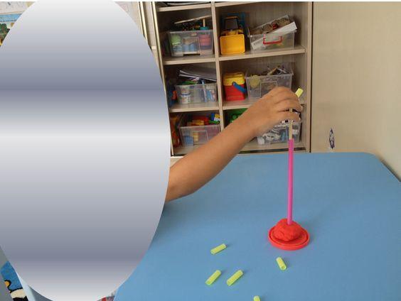 Short&Long Playdough Activity for Toddlers - Montessori